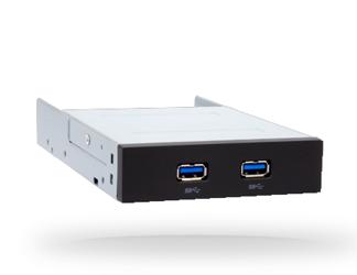 Panel przedni USB wewnętrzny 2x USB 3.0 Chieftec