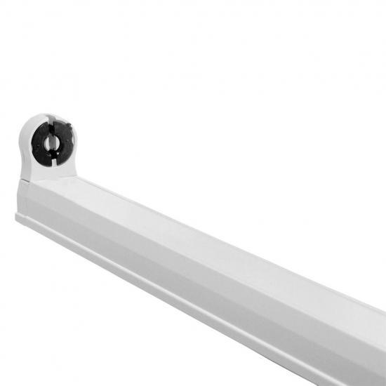ART Oprawa dla TUB LED T8,60cm,AC230V,zasil.jednostr.opcja łączenia,biała