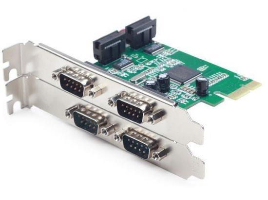 Gembird Kontroler PCI Express -> 4x COM 9 PIN