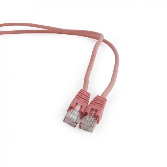Gembird patchcord RJ45, osłonka zalewana, kat. 5e, UTP, 2m, różowy