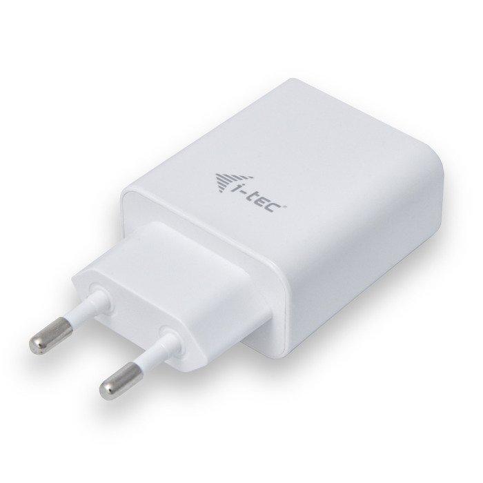 Ładowarka sieciowa i-tec 2x USB DC 5V 2.4A Biała