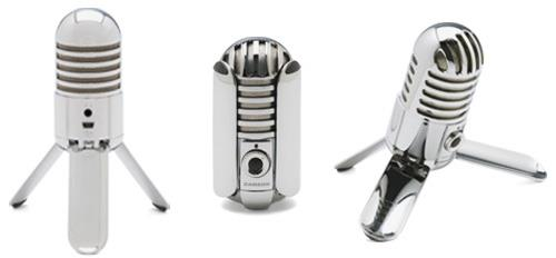 Mikrofon pojemnościowy SAMSON Meteor Mic USB
