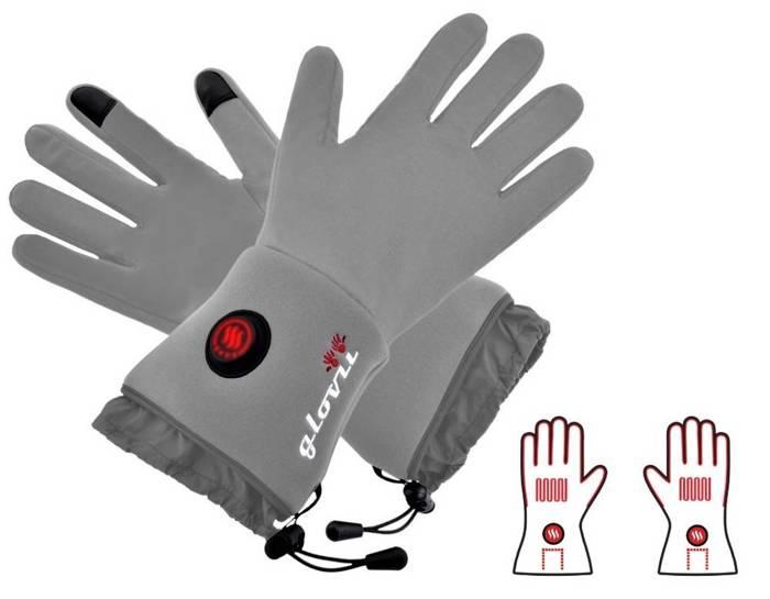 Rękawiczki termoaktywne ogrzewane Glovii - L-XL