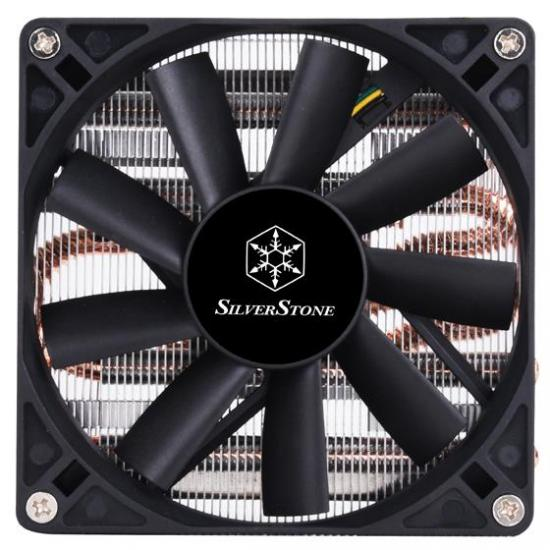 Silverstone Argon CPU cooler SST-AR11, Low Profile, 92mm PWM, Intel