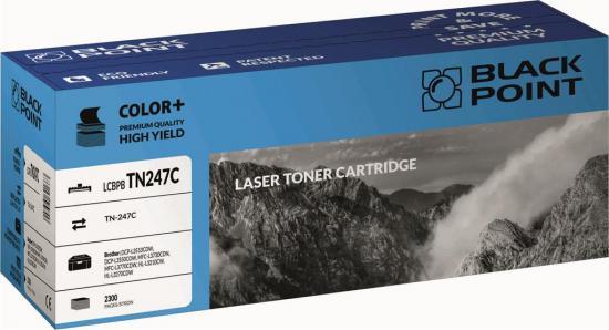 Toner cartridge Black Point LCBPBTN247C   cyan   2300 str.   Brother TN247C