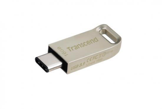 Transcend USB 16GB Jetflash 850 USB 3.1 Gen 1, Silver