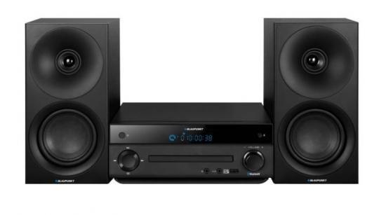 Wieża Blaupunkt Bluetooth FM CD MP3 USB AUX Czarna