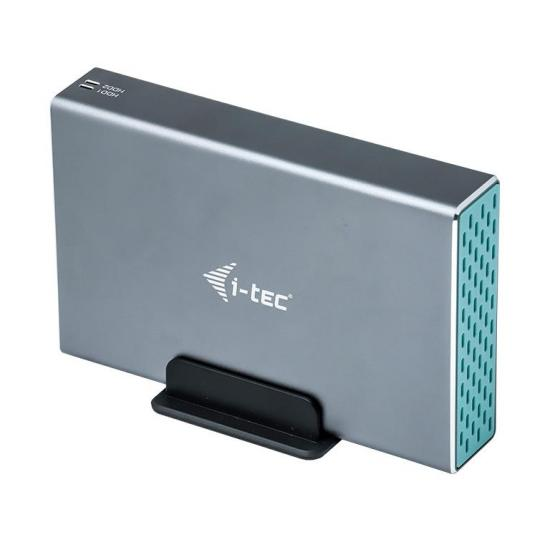 Zewnętrzna obudowa i-tec 2x 2,5'' SATA USB 3.1 TB3